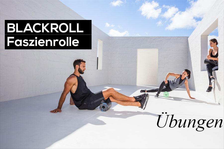 Übungen mit der Blackroll Standard - Faszientraining