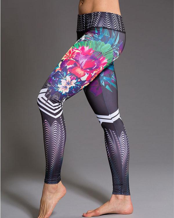 ONZIE Graphic Legging - Tiger Lily
