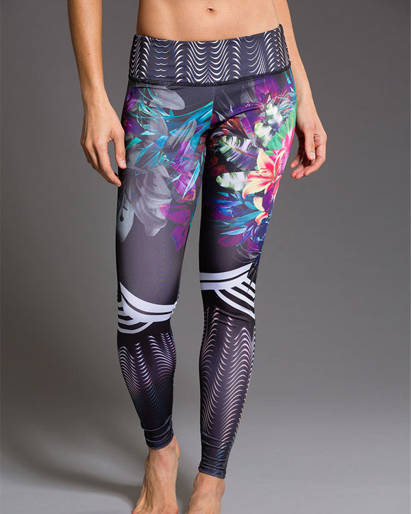 ONZIE Graphic Legging - Tiger Lily