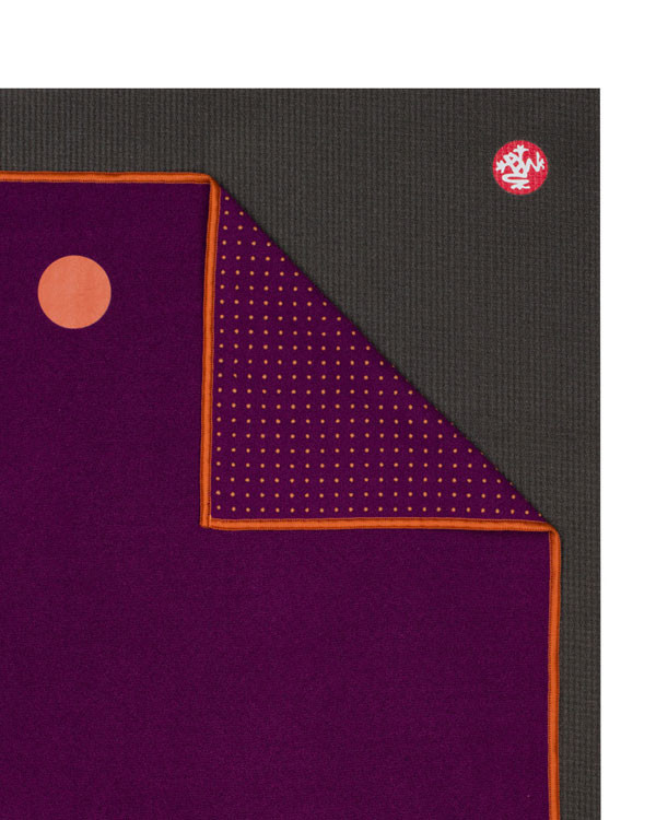 MANDUKA yogitoes® yoga towel - chakra purple