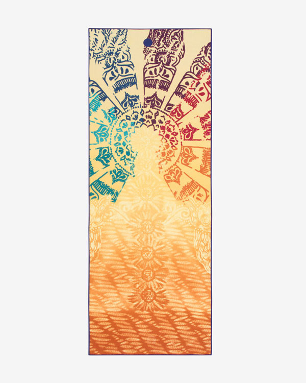 MANDUKA yogitoes® yoga towel - chakra print