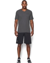 Under Armour Herren Shirt Charged Cotton® mit V-Ausschnitt
