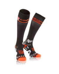 Compressport Full Socks Schwarz