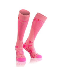 Compressport Full Socks Pink