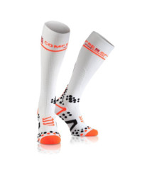 Compressport Full Socks Weiss
