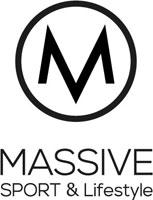 MASSIVE SPORT & Lifestyle // Fitness, Running, Yoga & Golf Klagenfurt Kärnten Österreich Sportboutique Retina Logo