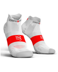 Pro Racing Sock v3 Lo Weiss