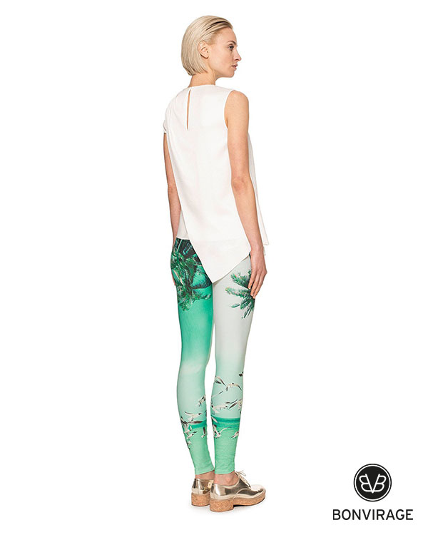 Bonvirage Palm Bird Legging