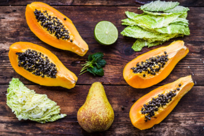 Smoothie Papaya
