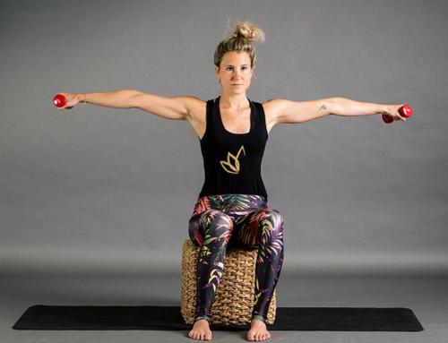 Sechs Übungen für starke und straffe Arme und Schultern