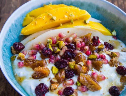 Früchtebowl – Zutaten und Rezept