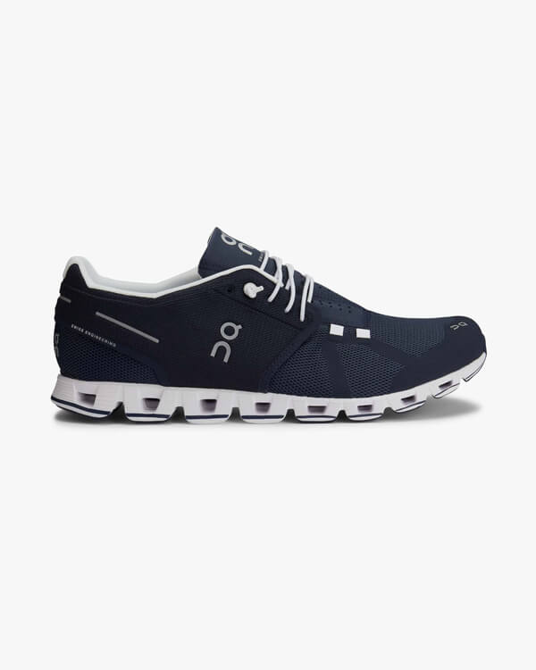 ON Cloud Navy White Laufschuh