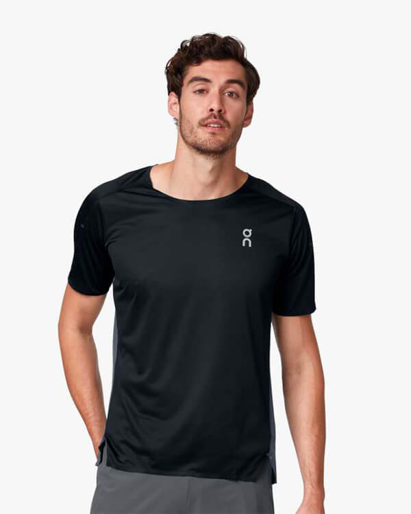 On Running Performance Laufshirt Black Shadow