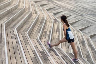 Treppen Laufen