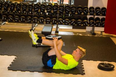Bauch Übungen