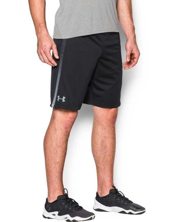 UA TECH MESH SHORT-Schwarz