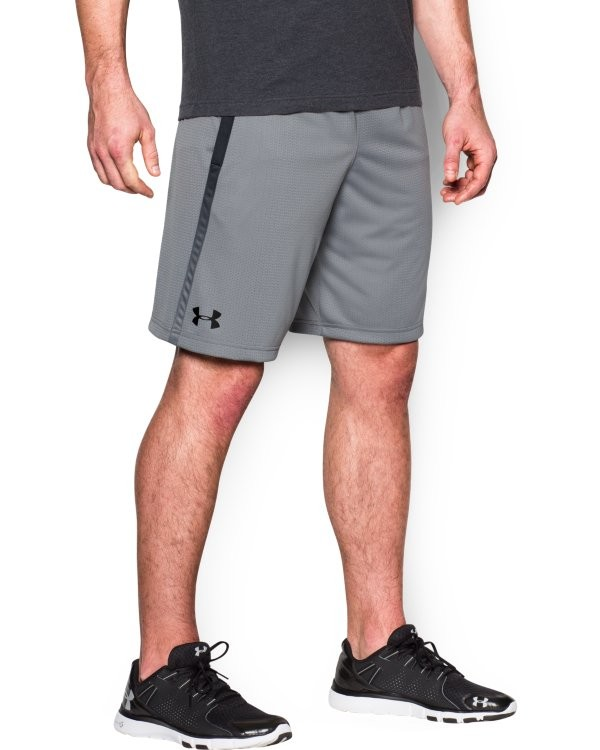 UA TECH MESH SHORT-Grau