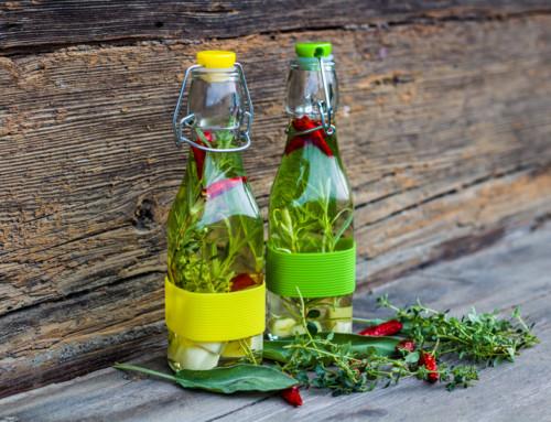 Provencalisches Öl für die Aromaküche