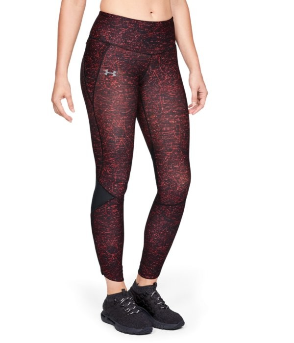UA Fly Fast Printed Tight-BLK