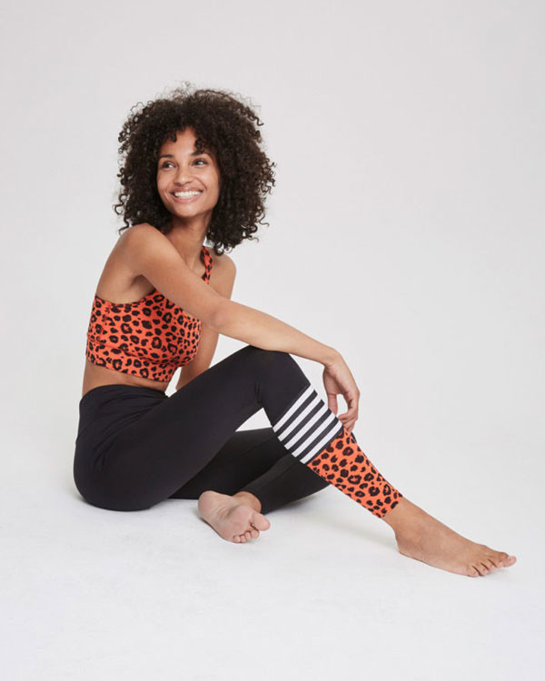 Hey Honey Leo Surf Style Legging