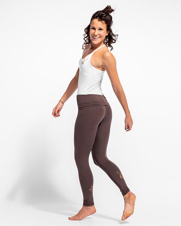 Nicoya Legging Braun