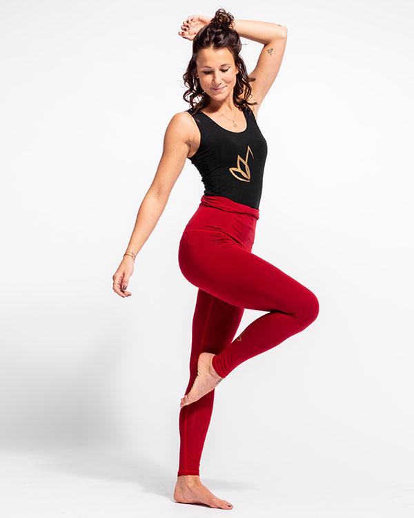 Nicoya Legging Red