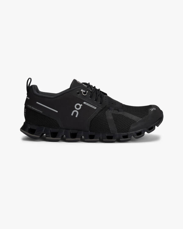 On Running Cloud Waterproof Black Lunar
