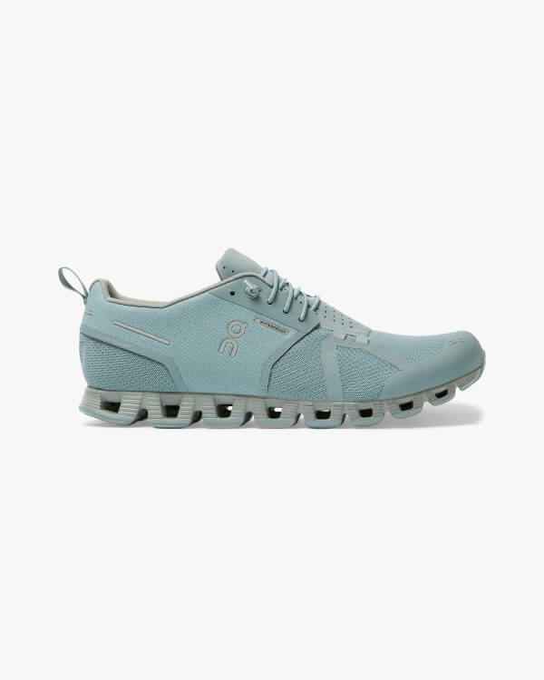 On Running Cloud Waterproof Cobble Lunar Seitenansicht
