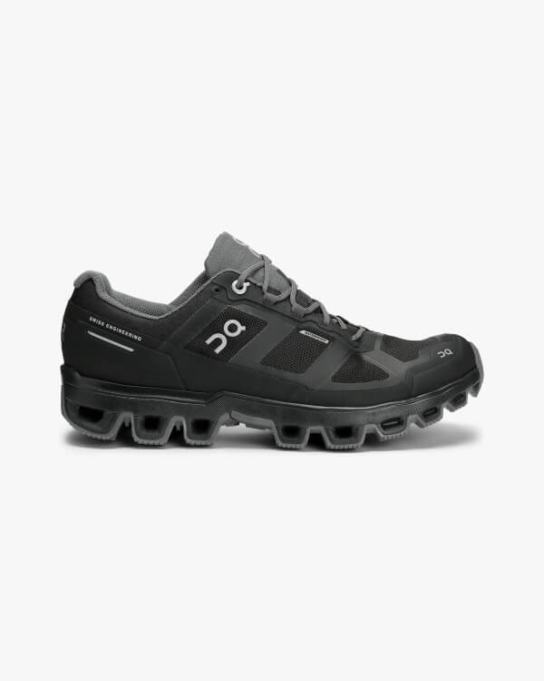 On Running Cloudventure Waterproof Black Graphite