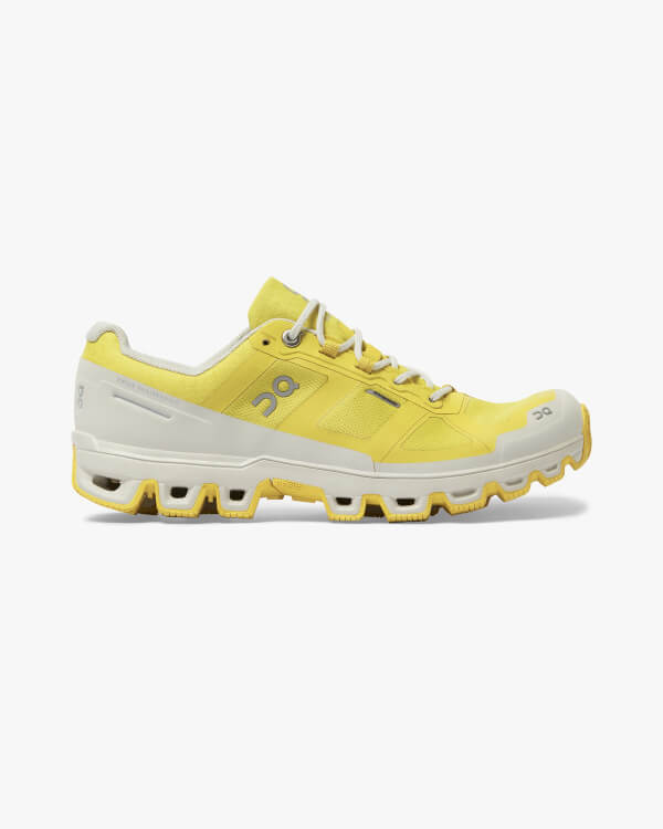 On Running Cloudventure Waterproof Mustard Pearl