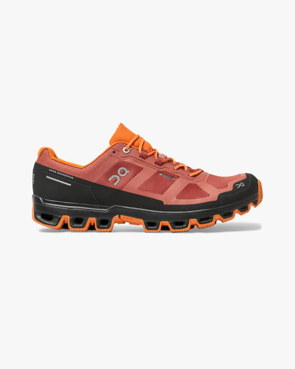 On Running Cloudventure Waterproof Rust Orange