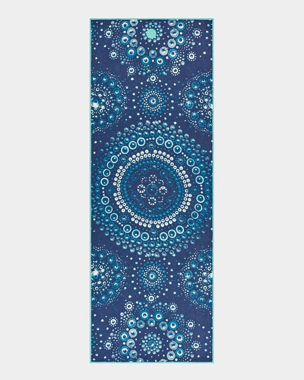 Manduka Yoga Towel Bubbles - Yogamattentuch mit Noppen