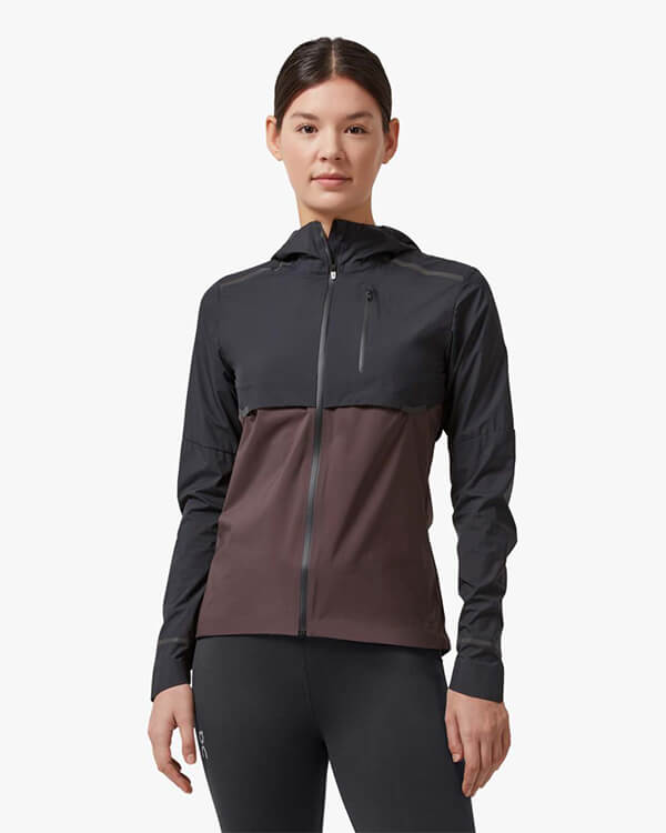 On Running Weather Jacket Black Pebble