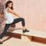 On Running Laufschuhe - Frau mit ON Schuhen