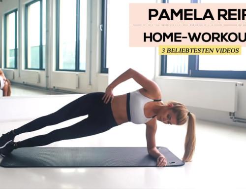 Die 3 beliebtesten Homeworkout Videos von Pamela Reif
