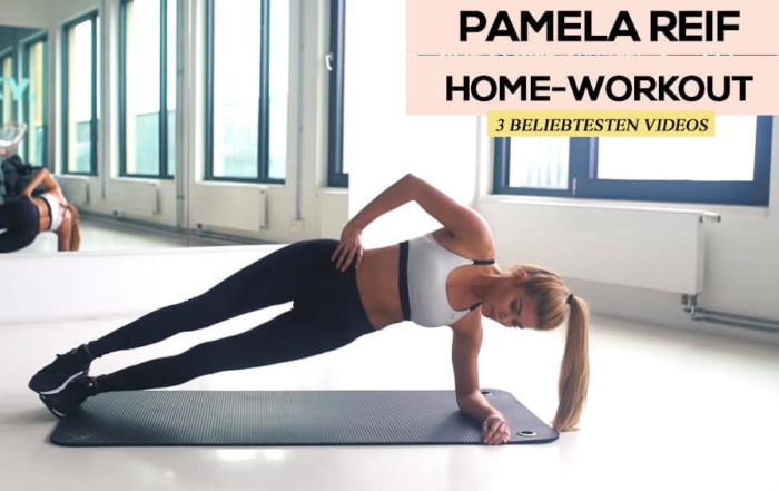 Pamela Reif Homeworkout 3 beliebtesten Videos