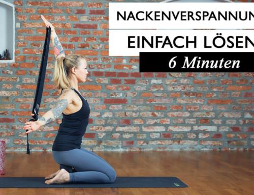 Verspannungen im Nacken und Schulterbereich lösen