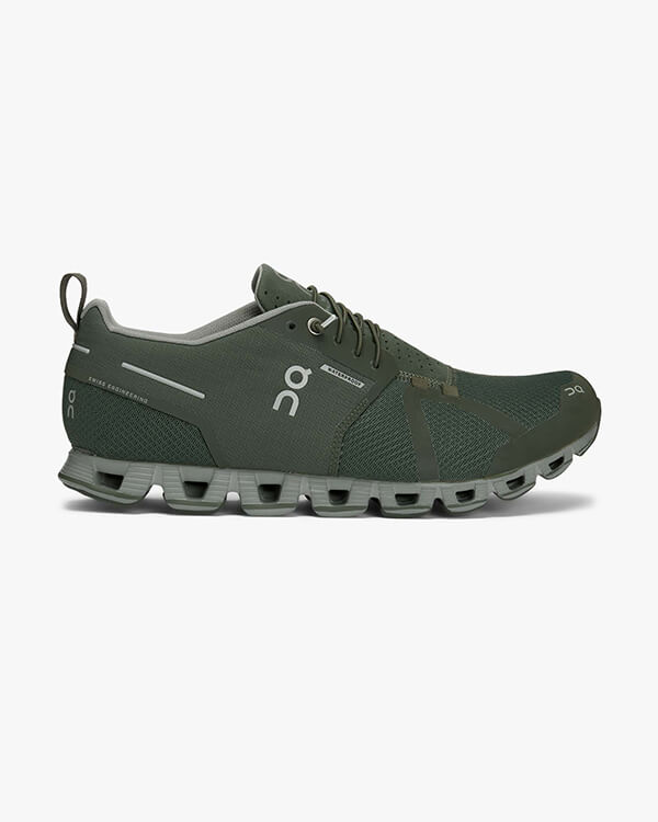 On Running Cloud Waterproof Forest Lunar Herren Laufschuh
