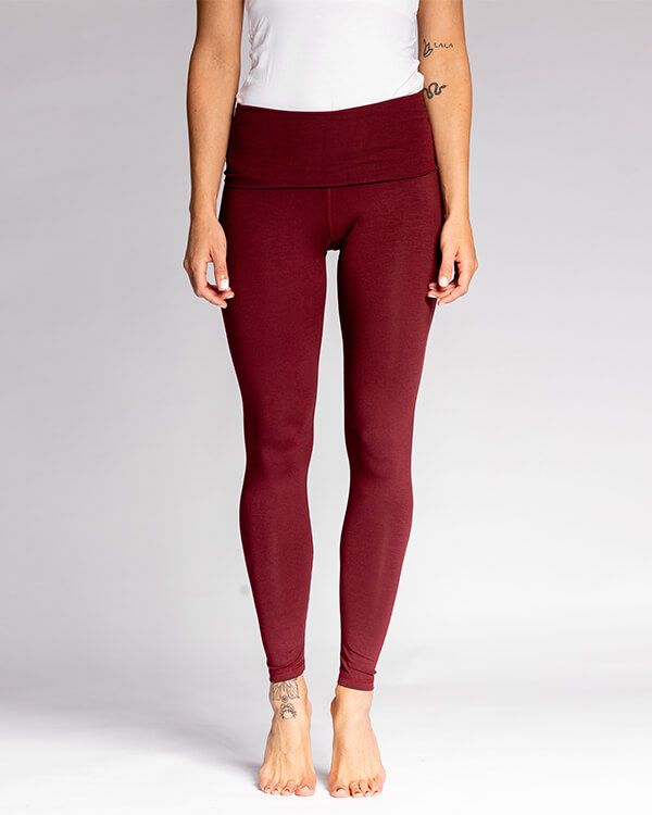 Nicoya Soul Wear Pura Vida Legging Bordeaux