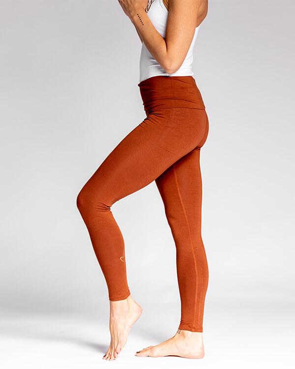 Nicoya Soul Wear Pura Vida Legging Mocha
